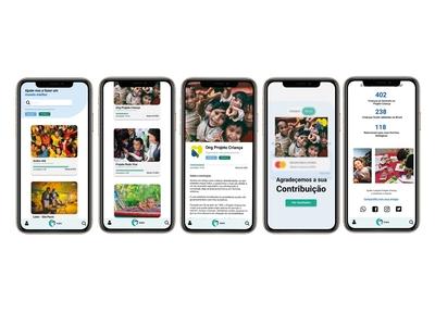Meio App ux ui web service mobile ui minimal icon flat branding app