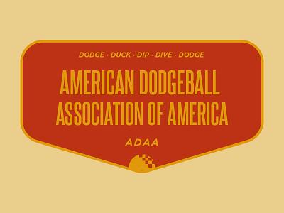 Dodgeball balls badge dodgeball