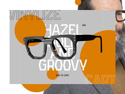 Vinylize Hazel Bold and Groovy Experiment web ui clarity simple balance design clean interface ux