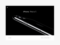 Apple iPhone 7 product page.