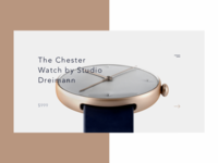 The Chester Watch by Studio Dreimann