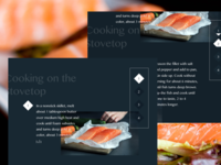 Gesture recognition cooking app