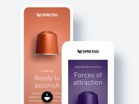 Enrich the experience of the Nespresso App