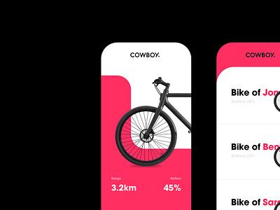 Cowboy App Concept app simplicity sketch clear balance simple design clean interface ux ui