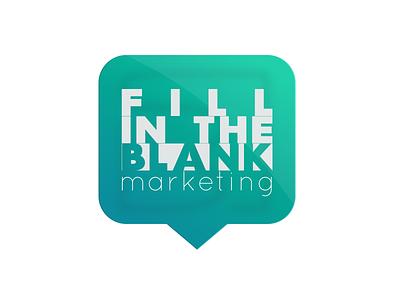 Marketing logo marketing social media typography illustration icon vector branding logo ux ui design