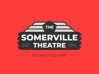 Movie Theatre logo logo design icon logo branding vector typography design