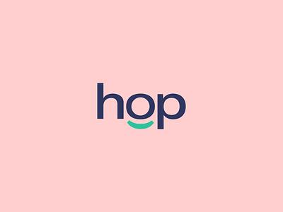 Hop - Logo Design crypto fintech fin tech logo design logo vector