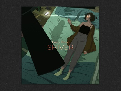 Shiver Lucy Rose book illustration drawing music illustration illustration album cover design album cover album art album covers album cover art album artwork