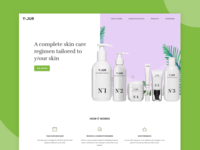 Landing Page for Y/our Cosmetic