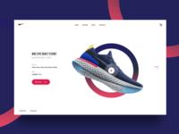 Nike Epic React Landing Page