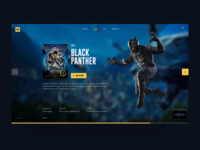 Black Panther - Movie slide