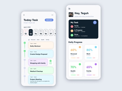 To Do List productive todolist dailytask web visual interface inspiration idea design mobile app ux ui