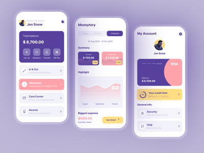 Mobile Banking App mbanking banking app bank interface idea inspiration design mobile app ux ui