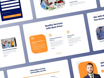 LetsStart - Startup Website