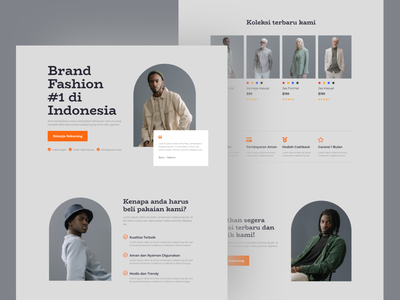 Mens Fashion Landing Page Design cloth apparel fashion mens fashion menswear mens app visual interface mobile web idea inspiration design ux ui