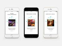 One Taste Travel App  Daily UI Challenge #001