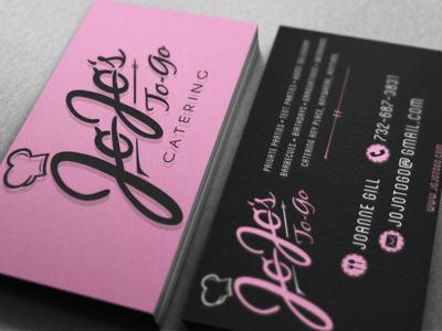 Jo Jo's Business Cards