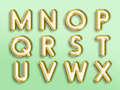 Part II: The Foil Alphabet