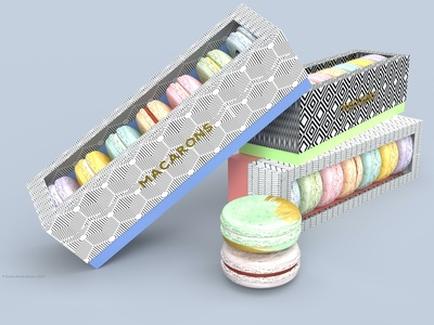 Macaron Concept in Three Dimensions