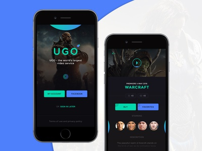 UGO mobile-design design color ux ugo ui mobile