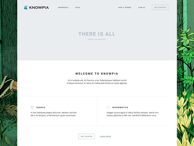 Knowpia branding vector logo illustration dribbble web-design web typography color clean page ux ui white site design minimal