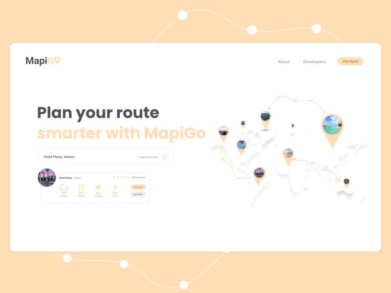 A Travel Planner & Importer Site minimalist web clean minimal