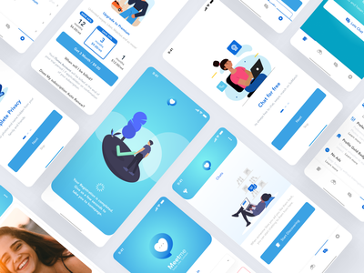 MeetMe Dating UI Kit dating ux dating ui dating kit datingapp dating website dating app dating clean illustration ios android mobile app design redesign ux ui