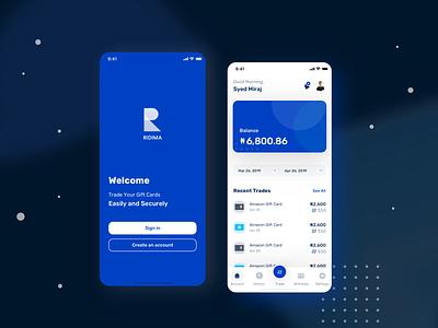 Banking app UI finance app design banking app android app design ios app design app design illustration typography mobile app redesign design ux ui