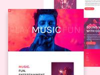 Experimental Music Web UI