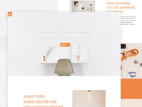 Clean web UI