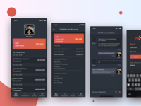 Payoneer Redesign (Dark UI)