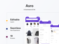 Asro APP UI Kit