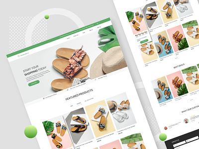 Visual Design for Shopify Website landing landing page design web design website design webdesign landing page web mobile website design redesign ux ui