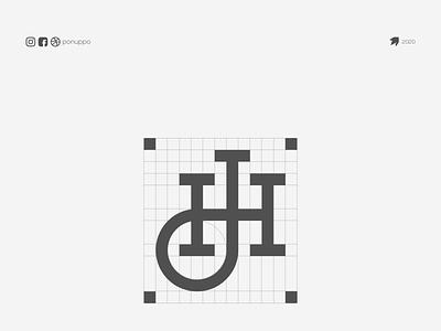 H LOGO logotype letter logomaker logodesign modern logo logo design brand design awesome logo branding