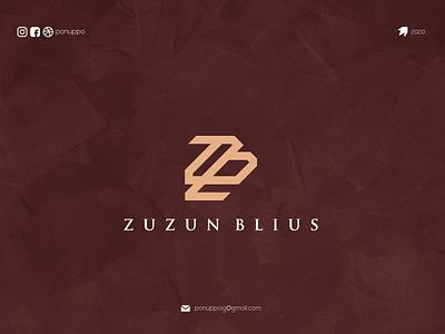 ZB LOGO logotypes logos ponuppo letter logotype logomaker logodesign modern logo logo design brand design awesome logo branding