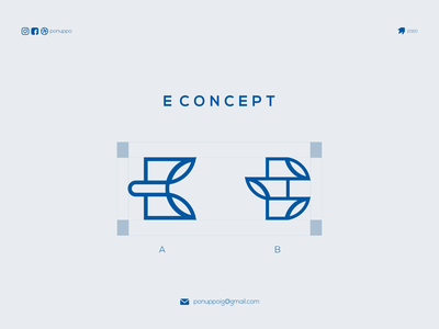 E CONCEPT logos brand mark letter e logotype letter logomaker logodesign modern logo logo design brand design awesome logo branding