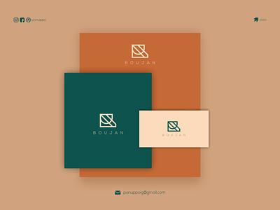 B CONCEPT flatdesign ponuppo letter logodesign logomaker modern logo logo design brand design awesome logo branding