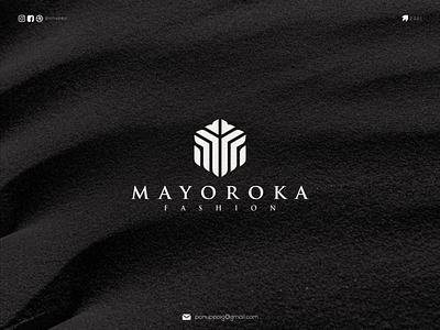 Mayoroka fashion ux ui letter logotype logomaker logodesign logo modern logo design brand design awesome logo branding