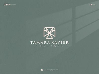 Tamara Xavier ux letter logotype logomaker logodesign logo modern logo design brand design awesome logo branding