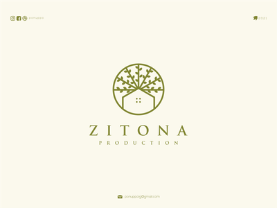 zitona brand identity luxury logo monogramlogo zitona uxui ui letter logotype logomaker logodesign logo modern logo design brand design awesome logo branding