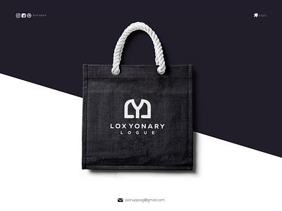 LOC YONAY LOGUE luxury branding branding design luxury brand luxury logo clothing monogramlogo ux ui letter logotype logomaker logodesign logo modern logo design brand design awesome logo branding