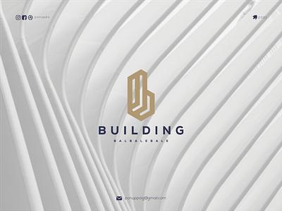 Building logoideas ux vector typography letter logodesign logo logomaker logotype illustration brand design branding