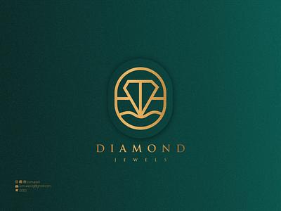 Diamond Jewels ux graphic design vector ui illustration logomaker logodesign modern logo logo design brand design branding