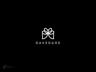 Dakedare desig inspiration flat design minimal sale logo luxury logo illustration logomaker logodesign modern logo logo design brand design branding