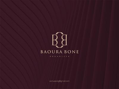 Baoura Bone Organizer illustration logomaker logodesign modern logo design logo brand design branding icon logo maker monogram logo luxury logo jewelry logo jewelry beauty logo bbo logo bo concept bb logo bautique
