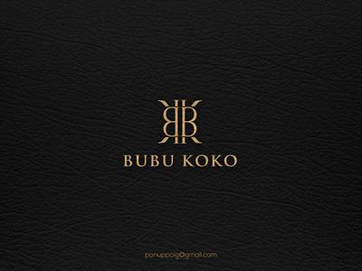 Bubu Koko ux ui illustration logomaker logodesign design logo brand design branding jewelry bk concept monogram b monogram k letter bk lettering logomonogram logo luxury logo luxury bk monogram bk bk logo