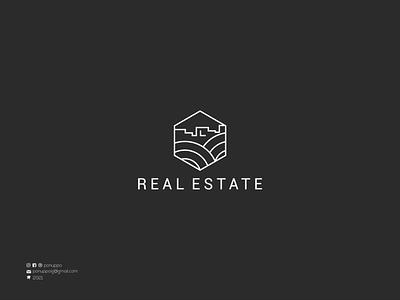 Lineart Real Estate Logo top branding top logo monoline logo lineart logo initial logo vector ui illustration logomaker logodesign modern logo design brand design branding real estate logo luxury logo logo logo maker typography contruction logo