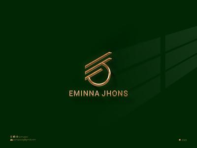Initial EJ Logo lettering brand mark logo maker vector ui illustration logomaker logodesign modern logo design logo brand design branding
