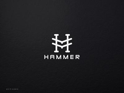 Initial HM Logo sport luxury jewelry initial logo m logo h logo top logo monogram logo hm logo vector ui illustration logomaker logodesign modern logo design logo brand design branding