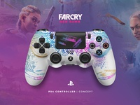 FarCry NewDawn PS4 Controller